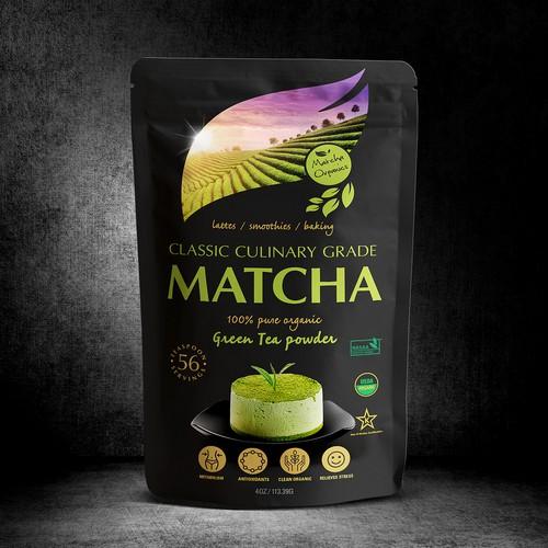 Green Tea Packaging Design