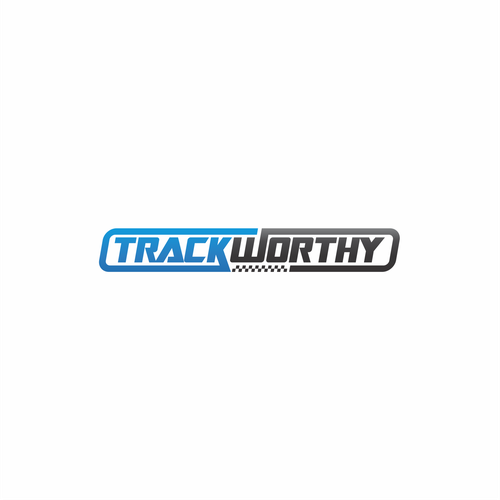 Trackworthy Logo design