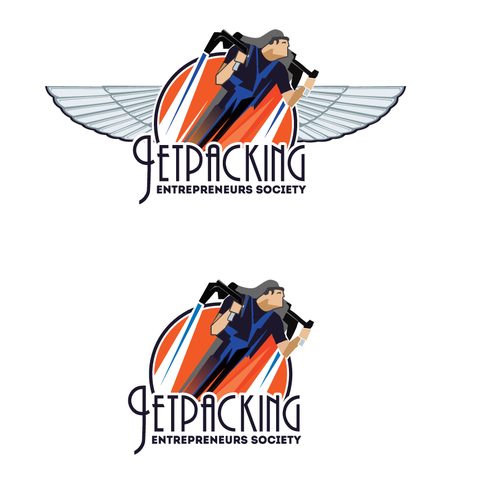 Logo for Jetpacking Entrepreneurs Society