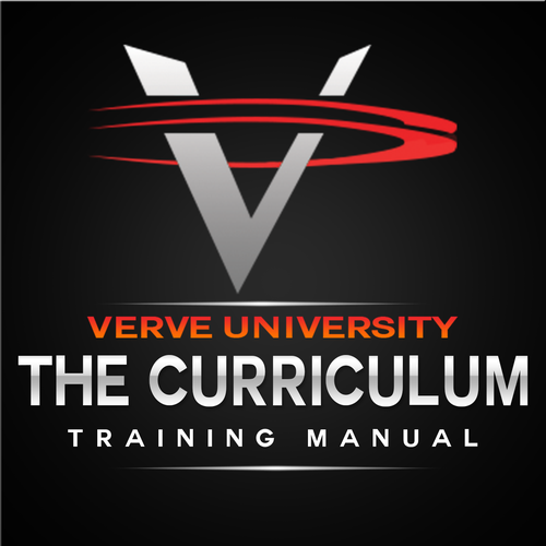 "Design the cover logo for ""the curriculum"" - our company training manual"