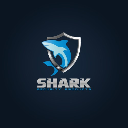 Create the New Logo for Shark Security Products
