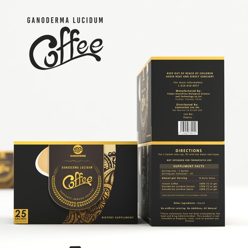 Ganoderma Lucidum Coffee