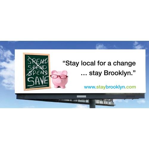 Design a HUGE Billboard for StayBrooklyn.com