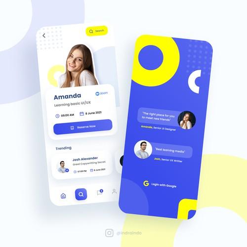 Online Seminar App Design