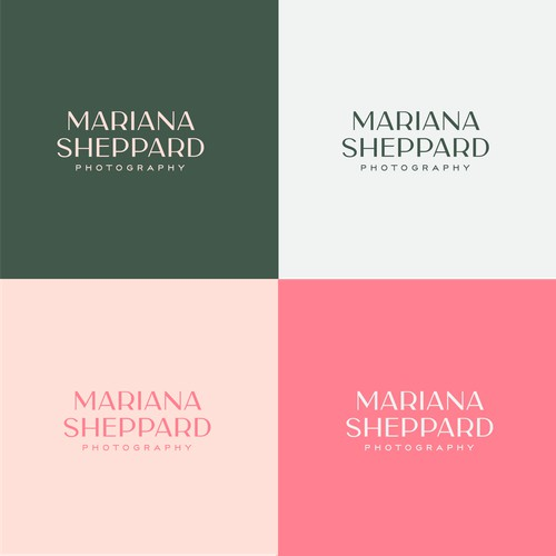 Modern, Sophisticated logo for a style-shifting photographer
