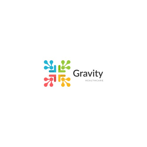 Logo and Business card for Gravity Healthcare