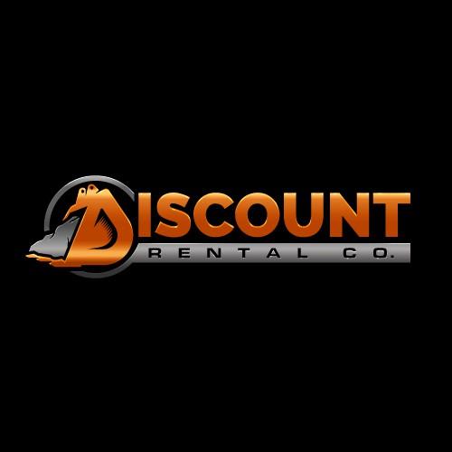 Bold Logo for Heavy Equipment Rental Company