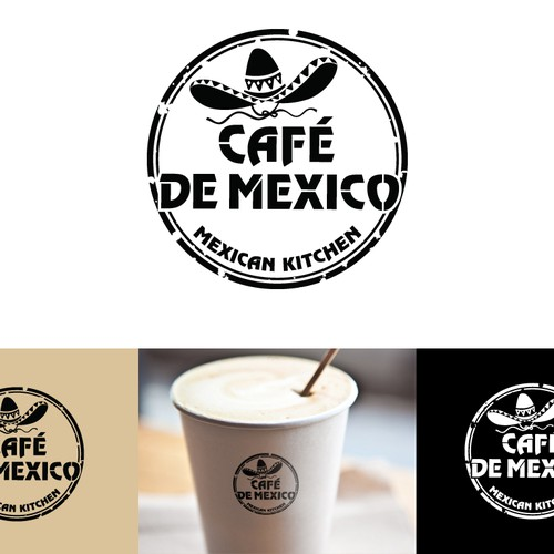 Help CAFÉ DE MEXICO with a new logo