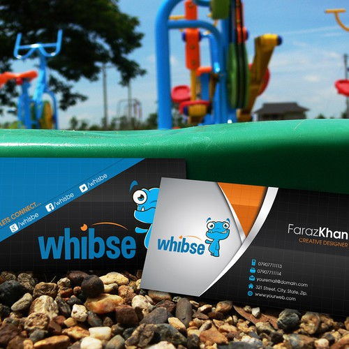 Create business cards for a start-up that are colorful, creative and fun