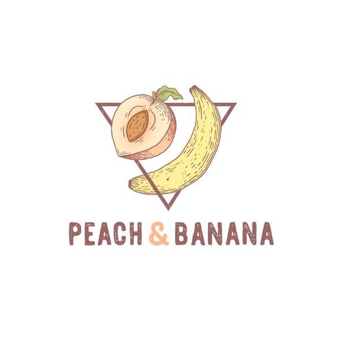 Peach & Banana