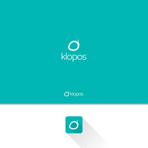 KLOPOS logo design