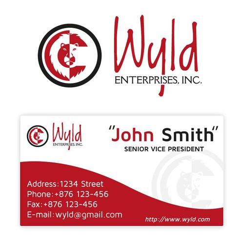 Create a Logo/Brand identity for Wyld Enterprises, Inc.