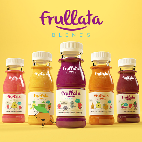 Energetic and motivating logo for Frullata
