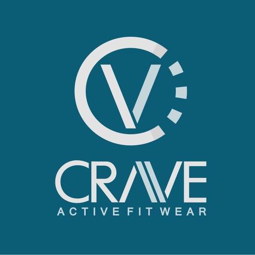 """Logo """"CRAVE"""" Active Fit Wear"""