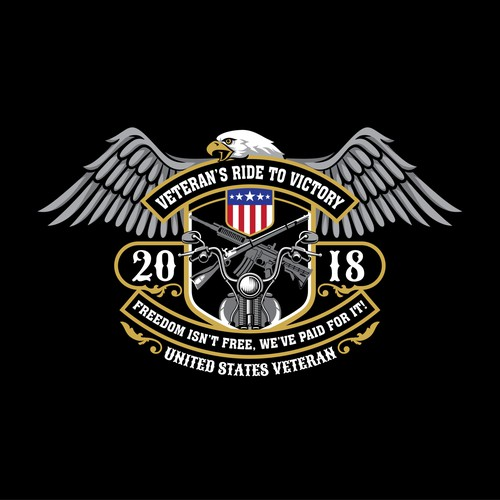 Veteran's Ride to Victory Logo