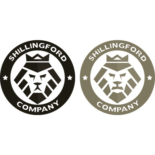 Shillingford Company Lion Logo Emblem