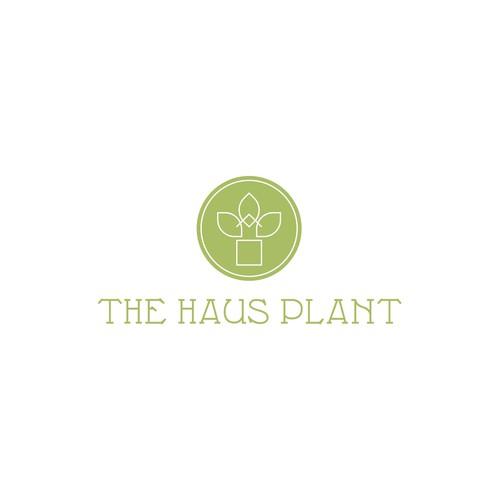 Logo design for a mobile plant store