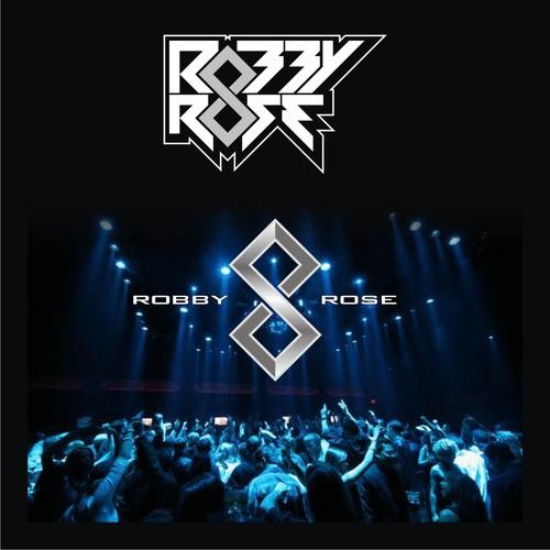 Create a logo design for upcoming DJ/Producer Robby Rose