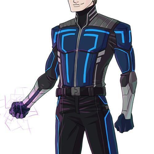 Superhero suit design