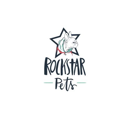 Logo for a pet accessoire shop