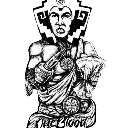 Aztec Warrior Tatto