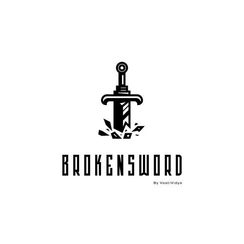 Broken Sword Logo Design