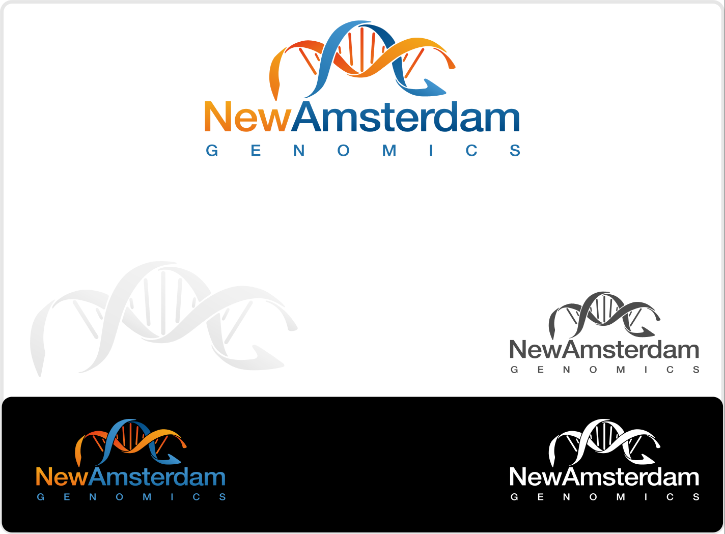 Help New Amsterdam Genomics with a new logo