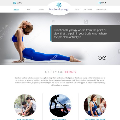 Landing Page Design for Functional Synergy