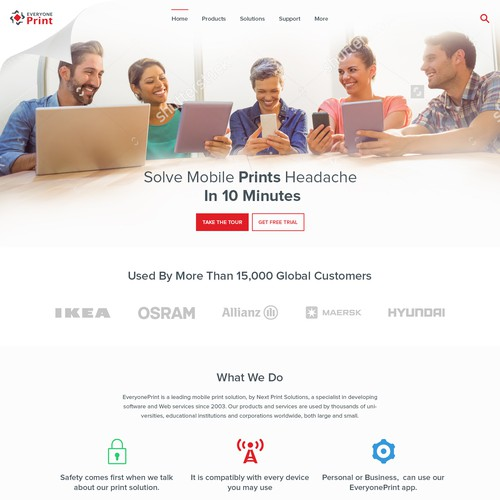 Creative Website For Printing Firm