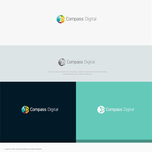 Logo for Compass Digital