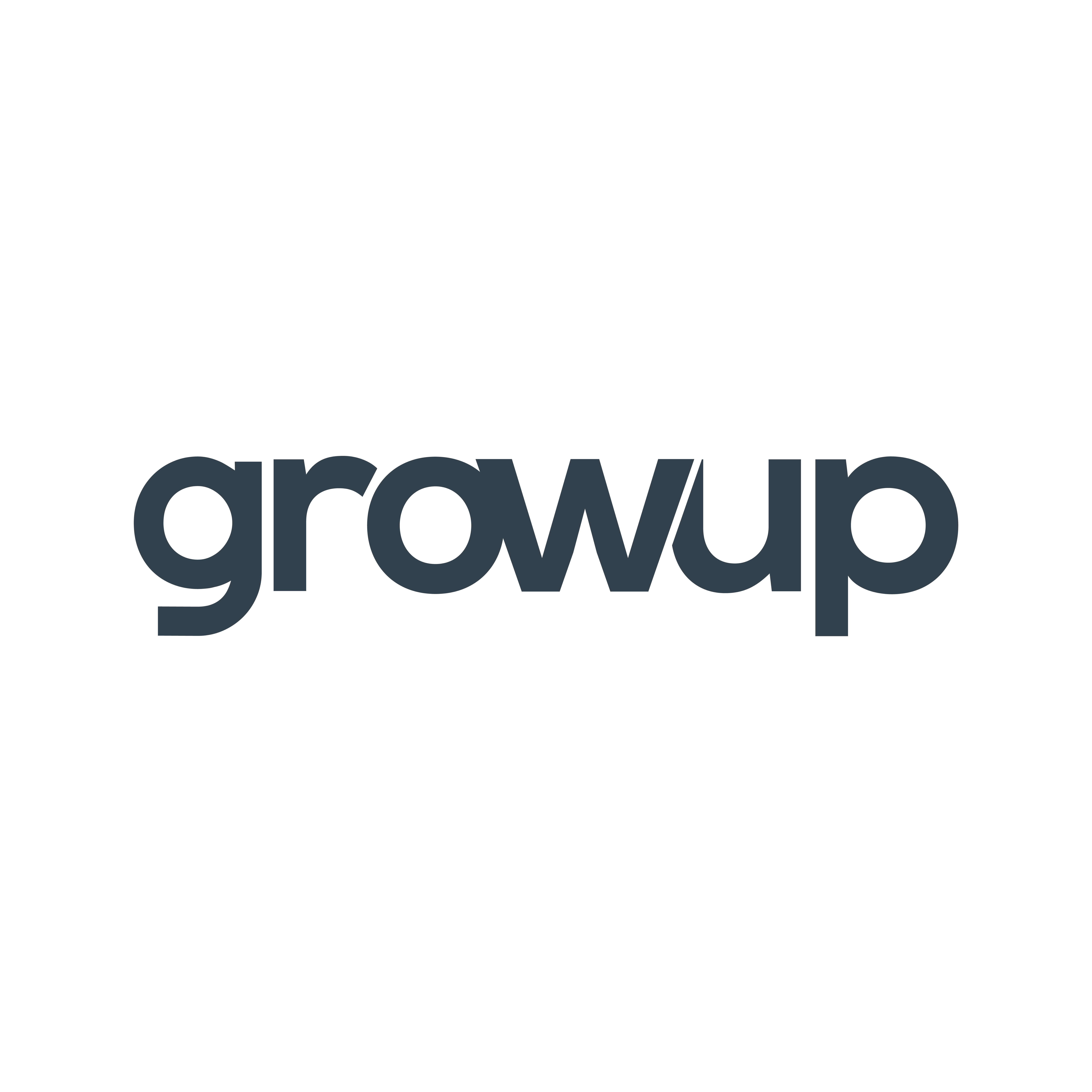 Redesign of Growup Logo