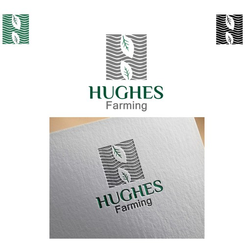 Logo concept for HUGHES Farming