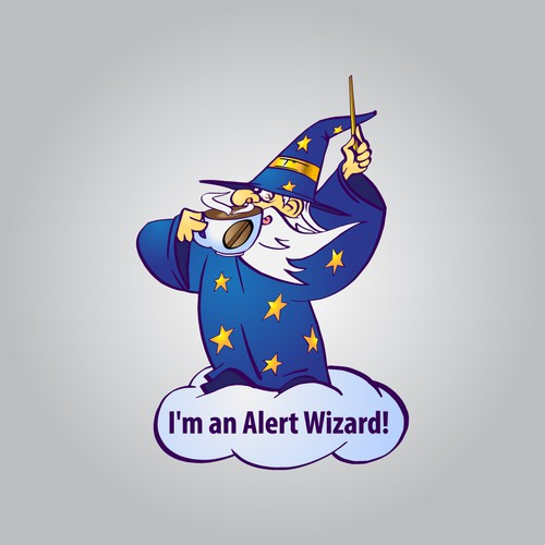 Wizard-character for network consulting firm