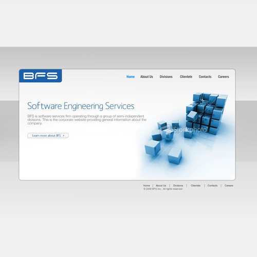 Software Firm Corporate Web Site
