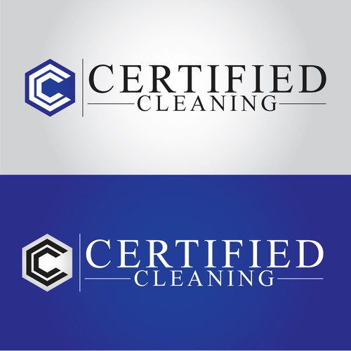 Certified Cleaning Logo Design