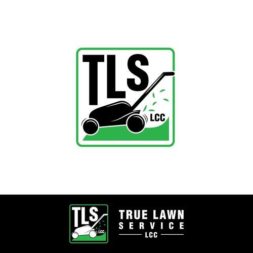 True Lawn Service, LCC Logo
