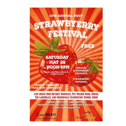 Strawberry Festival Poster