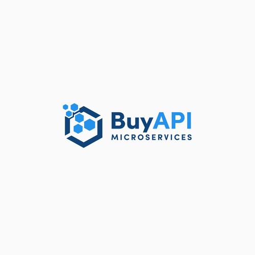 BuyAPIMicroservices logo design