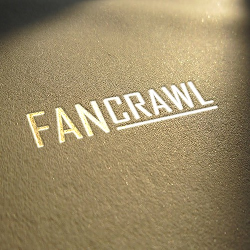 Create an impacting logo for Fancrawl...the #1 online merch store