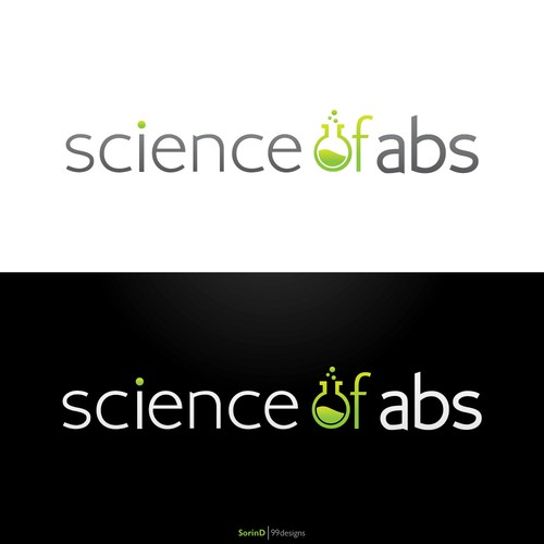 "Logo For ""Science Of Abs"" Workout Program For Men"