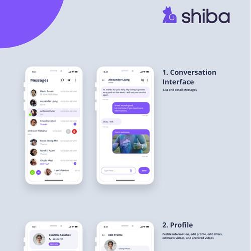 Influencer Messaging App