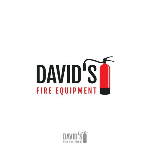 Logo for fire equipment business