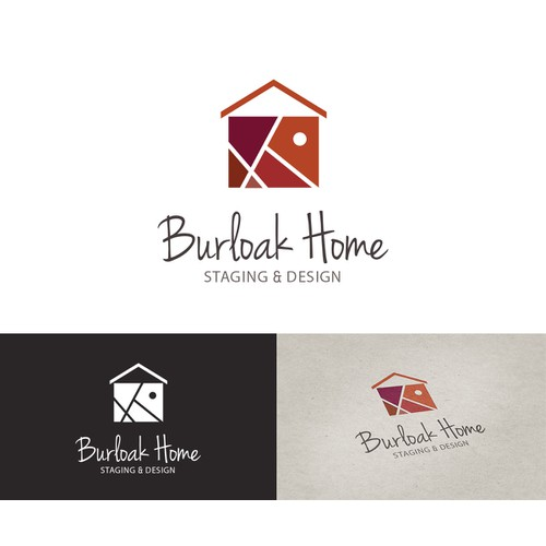 Geometric logo for home designing