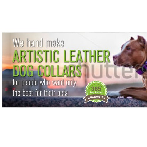 Create a banner ad for a dog loving company