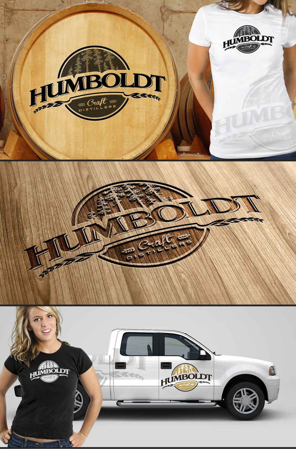 New logo wanted for Humboldt Craft Distillers, LLC