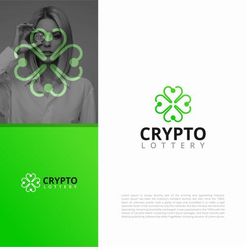 crypto lottery logo