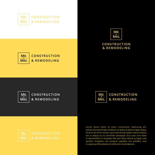 Logo for Mr. & Mrs. Construction & Remodeling