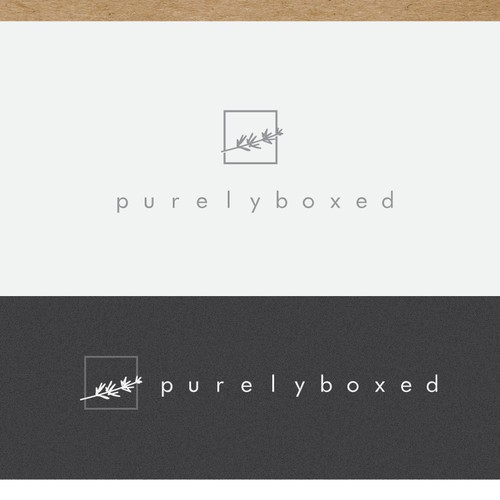 logo design - purelyboxed ( now marblevine.com)