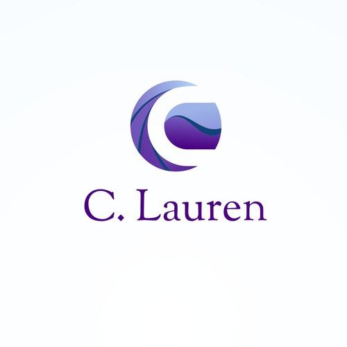 C. Lauren 3D logo