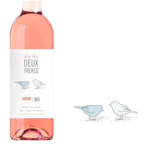design for a wine label